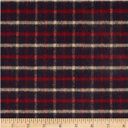 Primo Country Squire Flannel Small Plaid Navy/Red