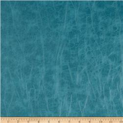 Richloom Faux Leather San Francisco Teal