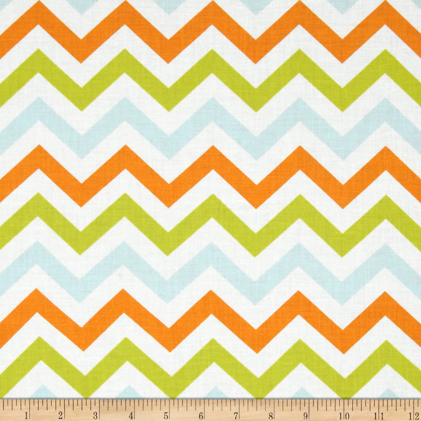 Moda Mixed Bag Zig Zag Sprouts Fabric