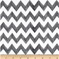 Poppy Patio Chevron Black