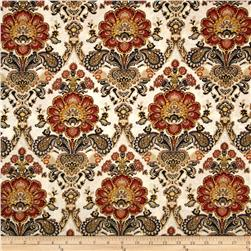 Armenia Large Floral Paisely Cream