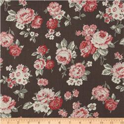 True Vintage Medium Floral Pink/Warm Taupe