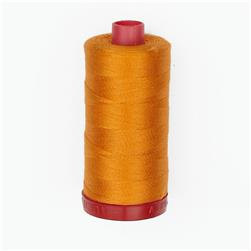 Aurifil 12wt Embellishment and Sashiko Dreams Thread Bright Orange