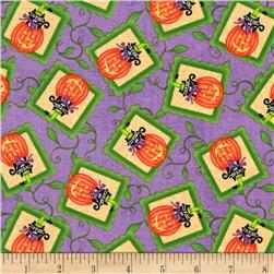 Hocus Pocus Pumpkin Patch Purple