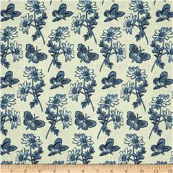 Penny Rose Meadow Butterfly Light Blue