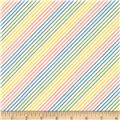 Moda Fresh Air Dotted Bias Stripe Pastel