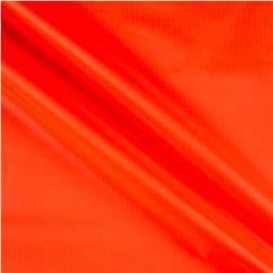 Nylon Rip Stop Neon Orange Fabric