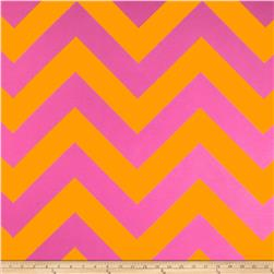 RCA Chevron Sheers Orange/Pink