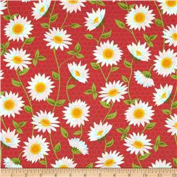 Oh Clementine Sunflowers Red
