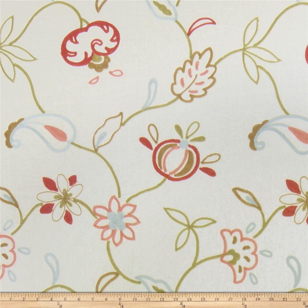 Jaclyn Smith Embroidered Cally Blush