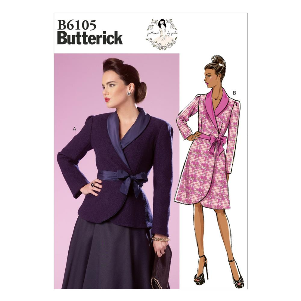 Butterick Misses' Jacket Pattern B6105 Size A50