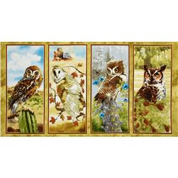 Owls of Wonder Panel Multi