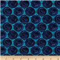 Urban Oasis Spiro-Dot Blue/Teal