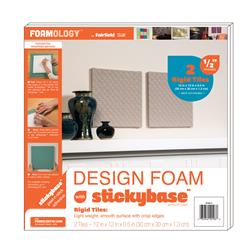 "Foamology Two Piece Design Foam Tile, Rigid 12"" x 12"" x .5"""