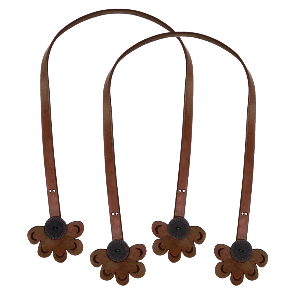Cindy's Purse Straps 24'' Daisy Fudge Brown