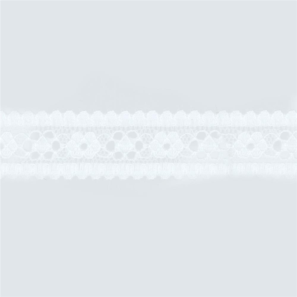 "May Arts 7/8"" Lace Ribbon Spool Ivory"
