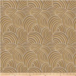 Fabricut Marlin Faux Silk Gold Leaf