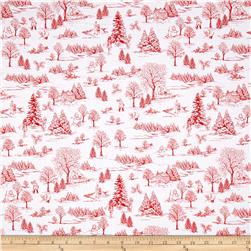 Winter Essential IV Winter Toile White/Red