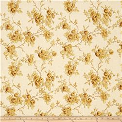 Maison Bleue Roses Yellow/Cream