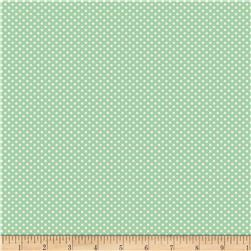 Back Porch Basics Dots Ivory/Green