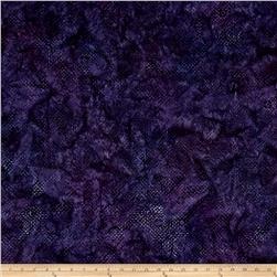 Kaufman Elemental Batiks Boxed In Geo Box Purple