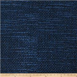 Fabricut Ferrous Oxide Faux Leather Cobalt