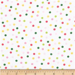 Remix Tossed Dots Garden Fabric