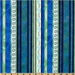 Born To Be Wild Stripes Green/Blue