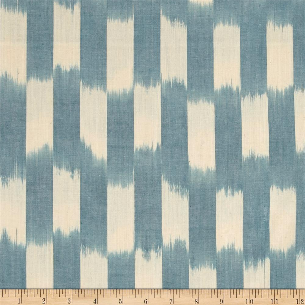 Andover Dream Weaves Ikat Patch Sky Blue