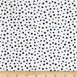 Lewe's Balloons Irregular Dot White/Black