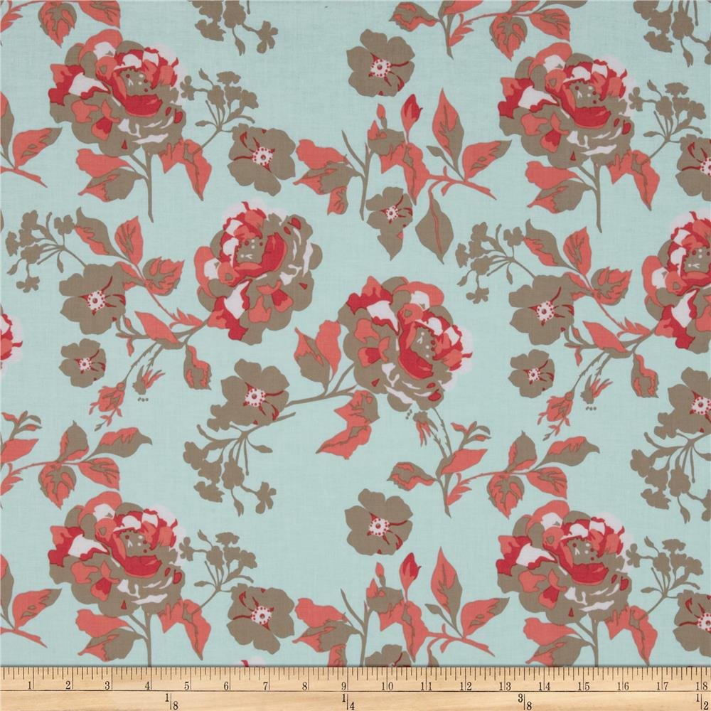 Riley Blake Kensignton Large Floral Blue