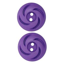 Fashion Button 3/4'' Jordan Purple
