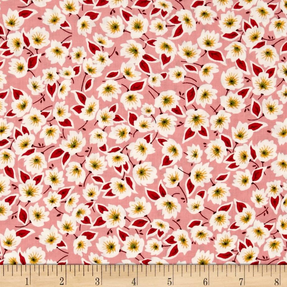 Penny Rose Hope Chest 2 Floral Pink Fabric