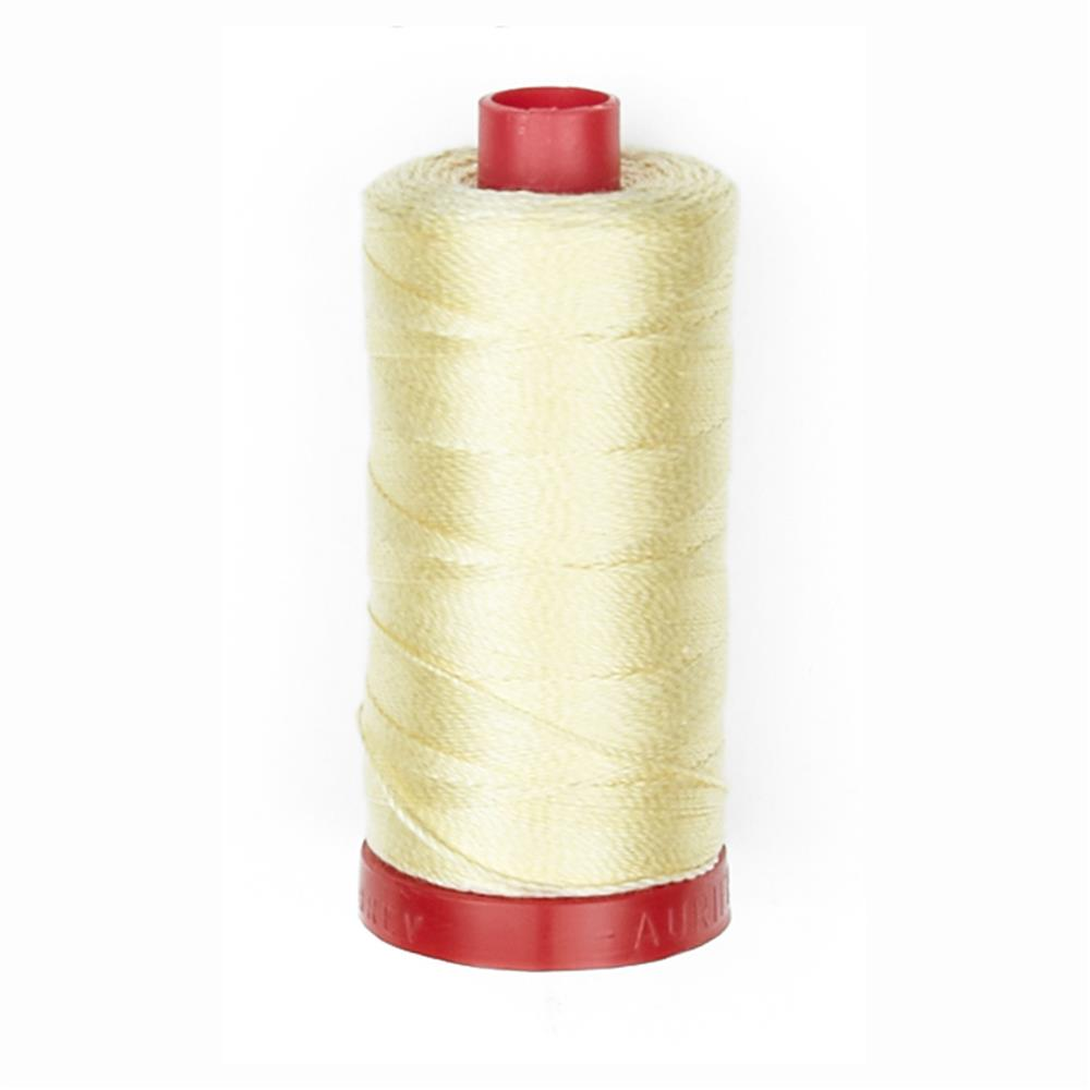 Aurifil 12wt Embellishment and Sashiko Dreams Thread Wheat