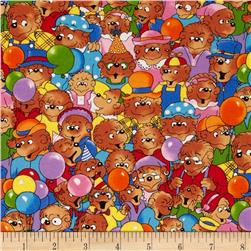 Moda Beary Happy Birthday Party Bears Multi