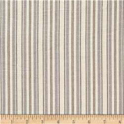 Laura & Kiran Napa Stripe Canvas Fog