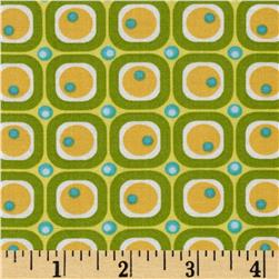 Moda ABC Menagerie Bubble Blocks Sunshine/Grass
