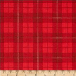 A Christmas Story Plaid Red