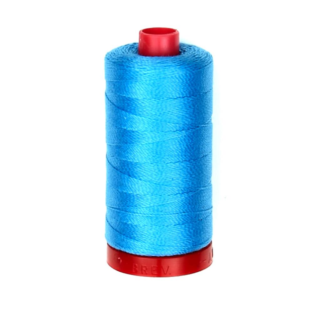 Aurifil Embellishment Thread 12Wt Bright Teal