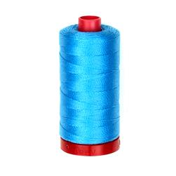 Aurifil 12wt Embellishment and Sashiko Dreams Thread Bright Teal