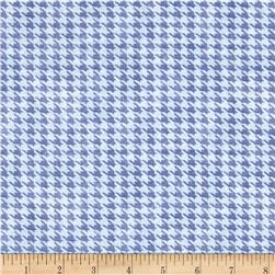 Alpine Woods Houndstooth Light Blue