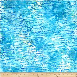 Artisan Batiks Nature's Creations Clouds Water Blue