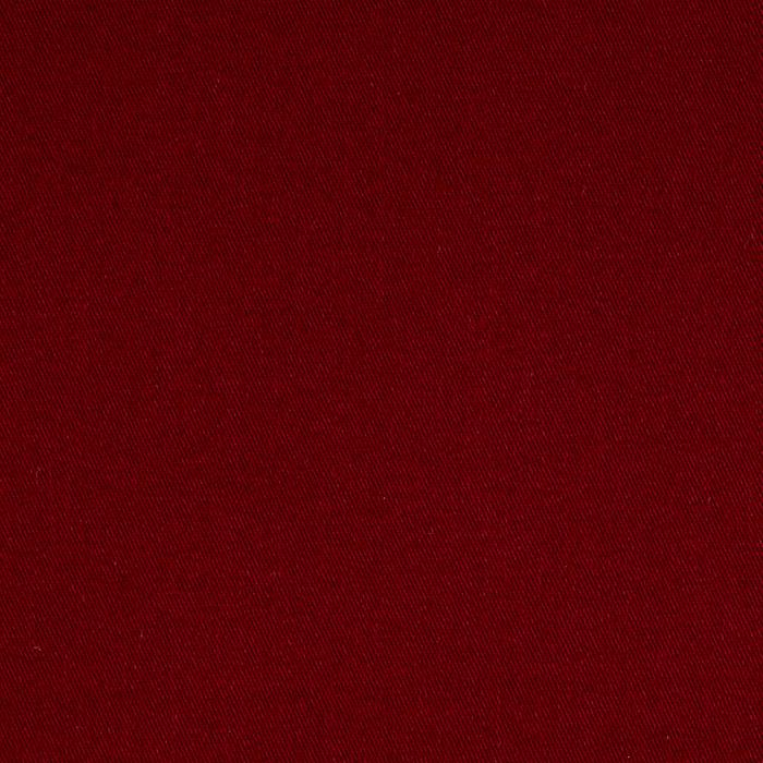 Cotton Blend Broadcloth Burgundy