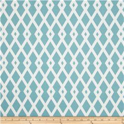 Robert Allen @ Home Indoor/Outdoor Baja Fret Aqua