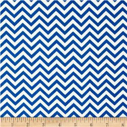 Ups & Downs Chevron Blue/White