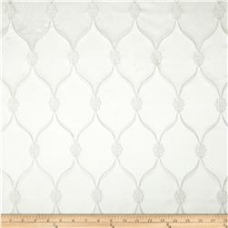 Starlight Lodi Metallic Diamond Satin Jacquard Snow White