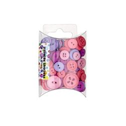 Dress It Up Color Me Collection Pillow Pack Buttons Precious Princess