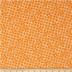 Contempo Butterfly Effect Circles Orange