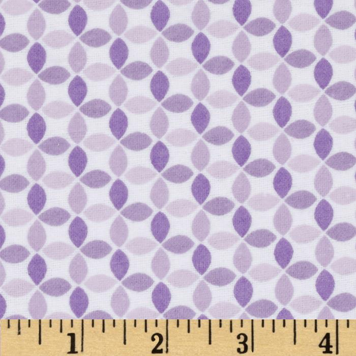 Alpine Flannel Sweet Geo Purple