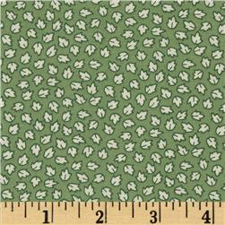Aunt Grace in a Pickle Small Leaves Green